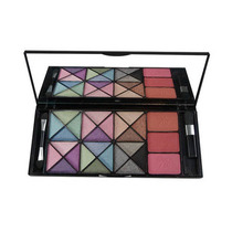 Kit Paleta Sombra Jasmyne 24 Cores 3d Com Blush + Brinde