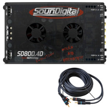 Modulo Mono Stereo Soundigital 800.4 + Frete + Brinde