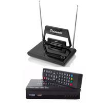 Conversor De Tv Sinal Analógico P/ Digital + Antena Digital