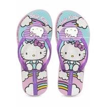 Chinelo Infantil Feminino Ipanema Hello Kitty