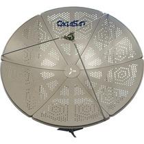 Antena Parab Banda C E Ku 1,50m F Perfurada Gigasat