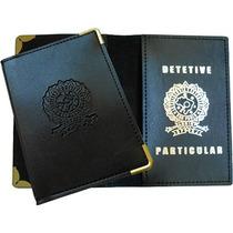 Carteira Porta Funcional Detetive Particular Frete Grátis!!!