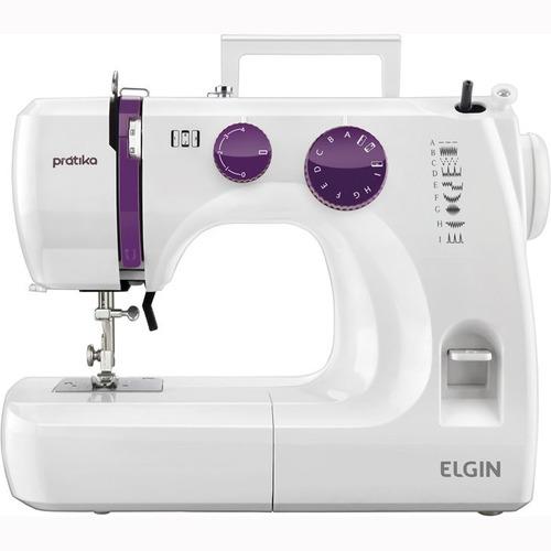 Máquina De Costura Elgin Prátika Jx - 2051, Portátil 110v