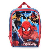 Lancheira Infantil Homem-aranha - Marinho