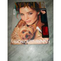 Revista Vogue Itália Nº 721 - Miranda Kerr - 09/2010