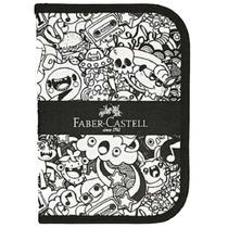 Estojo Escolar De Nylon Com Zíper Doodle Faber-castell