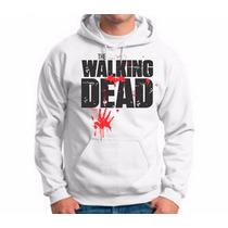 Blusa Moletom Masculino Bolso Canguru The Walking Dead