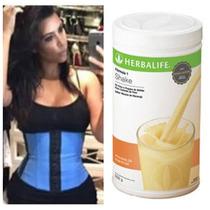 Kit Fit - Cinta Modeladora Kim Kylie + Shake Herbalife
