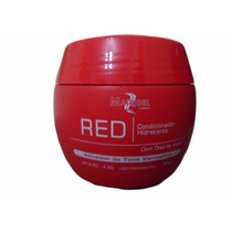Máscara Matizadora Vermelha Com Óleo De Argan + Brinde