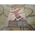 Livro De Receitas Culinaria Royal Anos 60 Bom Estado
