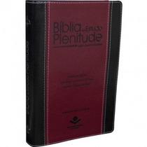 Bíblia De Estudo Plenitude Rc Letra Vermelhas + Índice