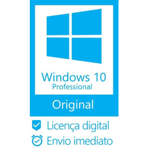 Windows 10 Pro Key Chave 10 Fpp 32/64 Original + Nota Fiscal