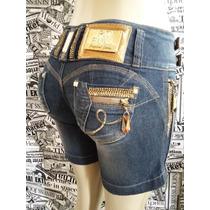 Pit Bull Short Jeans Feminino Original Pronta Entrega