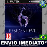 Resident Evil 6 - Ps3 - Código Psn - Português - Envio Agora