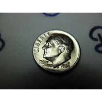 Moeda One Dime Liberty, Ano 1984,letra D Ref 274