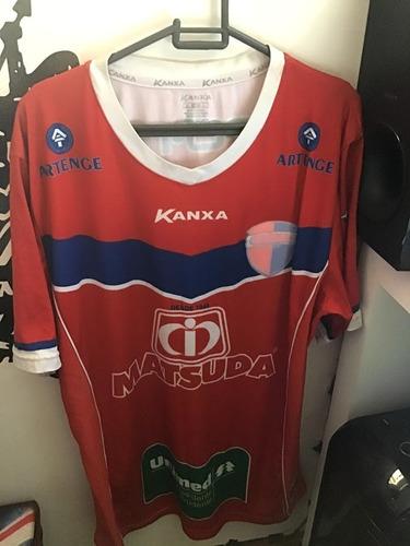Camisa Grêmio Prudente Jogo Vermelho 6c056058c6f6a