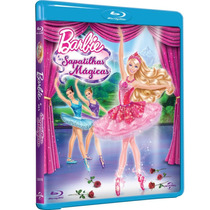 Barbie E As Sapatilhas Mágicas (blu-ray Lacrado)