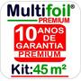 Manta Térmica Subcobertura P/ Telhado 45m² 2 Faces (premium)
