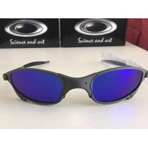 40b0e4542 Lupa Oakley Juliet Lentes Blue Brilho Reto,penny,double-x, à venda ...