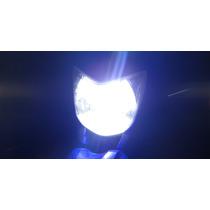 Lampada Farol Super Led 6000k Efeito Xenon Fazer Cb300 Next