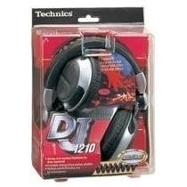 Headphone Technics Rpdj 1210 Original Na Caixa