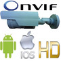 Camera Ip Lente 2.0mp Full Hd 720p Infra Ircut Onvif 2.4 P2p