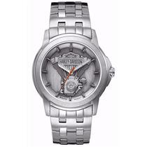 Relógio Bulova Harley Davidson Wh30242q Oferta Garantia E Nf