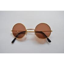 Óculos De Sol Fem Masc Redondo Pequeno Clássico Retrô Barato