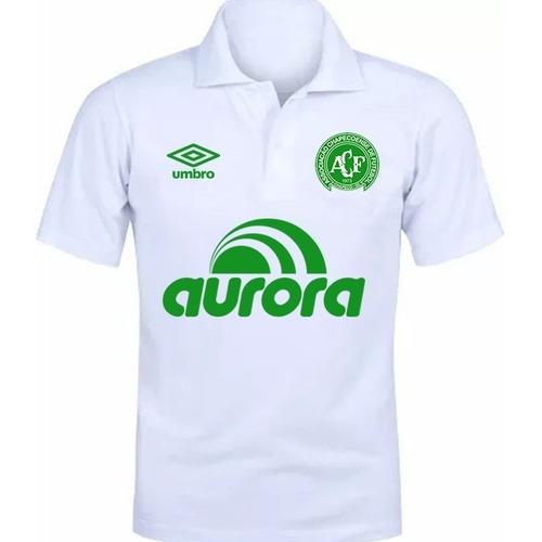 Camisa Camiseta Polo Torcedor Chapecoense Chape Lançamento 5288f994b7d71