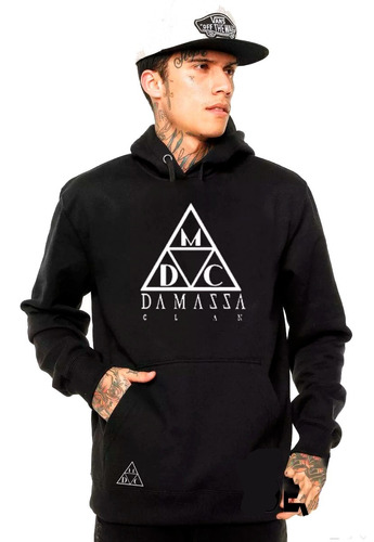 Moletom Damassaclan Dmc Moleton Rap Hip Hop Skate - R  59 en Melinterest ce8a659c13a