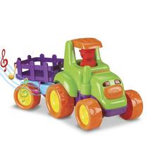 Baby Truck Tratores Com Funcao - Carreta 0235