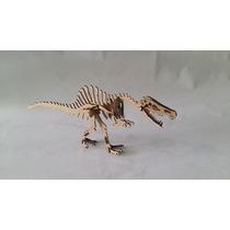 Quebra Cabeça 3d - Coleção Dinossauros - Alossauro Mdf