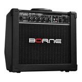 Amplificador Borne Impact Bass Cb60 20w Preto 110v/220v