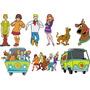 Adesivo Decorativo Desenho Scooby Doo - Frete Grátis