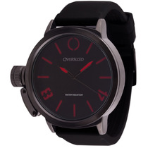 Relógio Esportivo Masculino Oversized Hunter 50mm (dark+red)