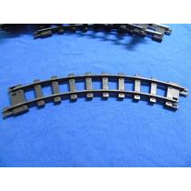 Trilho Estrela Curva Ferrorama Coleção Ferrovia Trem
