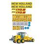Adesivos Motoniveladora New Holland Rg170.b Ca-13966 Mq Original