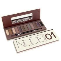 Pallete Nude 1 Vivai Estojo Kit 12 Sombras = Naked Urban 01