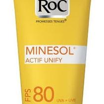 Roc Minesol Actif Unify Prot.solar Fps80 Uniformiza E Proteg