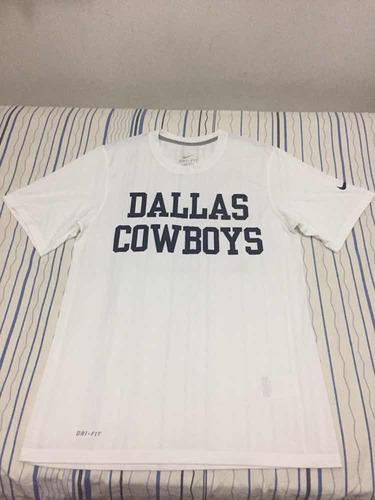 f979e1412 Camiseta Dallas Cowboys - Tamanho P Usada 1 X