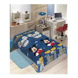 Cobertor Jolitex Ternille Manta Soft Solteiro Mickey Mouse