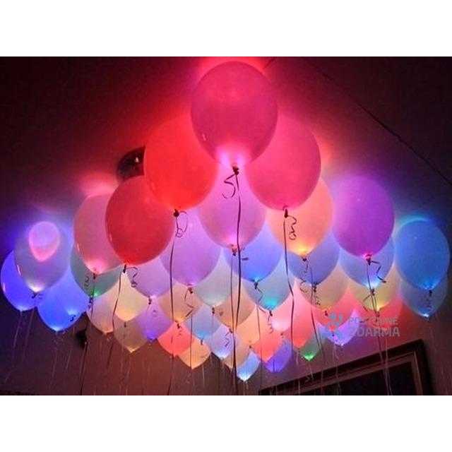 150 Mini Led Bexiga Festa Balão Decoração Promoção Em Belo Horizonte