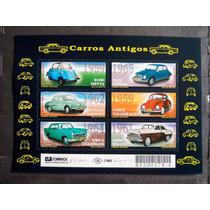 Bloco 120 - Carros Antigos/2001 - Brasil