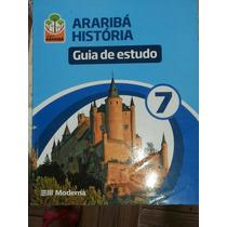 Livro: Projeto Arariba História Guia Do Estudo 7 E 8°ano.