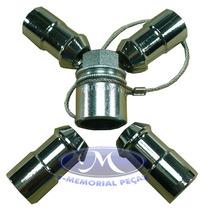 Jogo Porca Rodas Aluminio-cromada-peca Orig Ranger-1994-1997