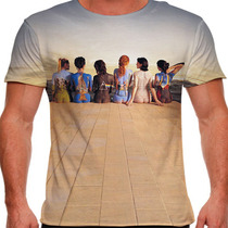 Camiseta Rock Pink Floyd History Collection Masculina
