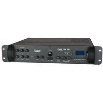 Amplificador Estéreo C/pré Embutido Pwm70 V Fm - 2 Canais