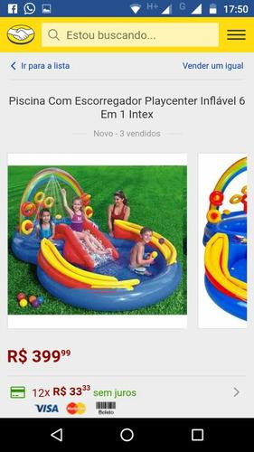 Piscina Intex Nova E Completa.