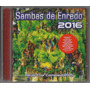 Sambas De Enredo-carnaval 2016 (especial) Rio De Janeiro