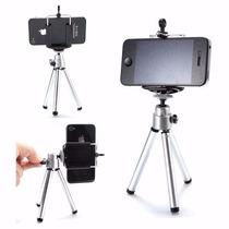 Kit Mini Tripé Selfie + Suporte Celular - Iphone - Universal